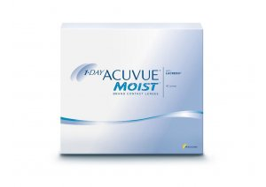 1 - DAY ACUVUE MOIST (90 buc).
