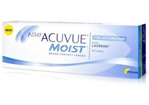 1 - DAY ACUVUE MOIST ASTIGMATISM (30 buc)